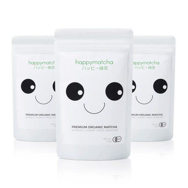 3 pack of culinary organic matcha tea powder